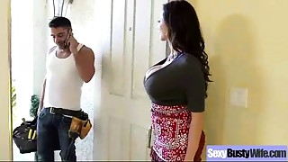Hard Style Sex On Tape With Large Melon Mounds Sexy Mother (ariella ferrera) movie-02