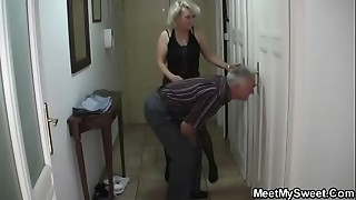 That babe receives lured into Three-some by his parents
