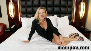 Hawt golden-haired mother I'd like to fuck in 1st time adult movie