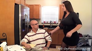 Madisin Lee in Cougar mommy helps son with his &quot_Term Paper Blue Balls&quot_