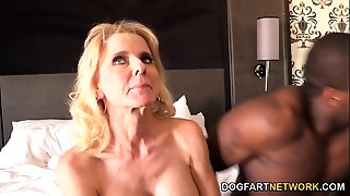 Cammille Receives Her Mother I'd like to fuck Slit Team-fucked By Ebony Men