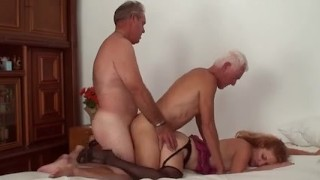 Older Bi Pair Three-some