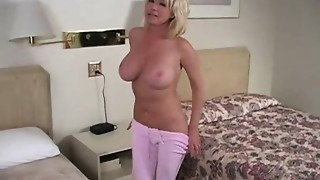 Big-boobed mother I'd like to fuck IR gangbanged (w/ anal)
