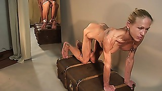 Anorexic Cougar Carmen 4