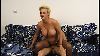 Golden-haired Mother Loves Her Rods Lengthy And Thick