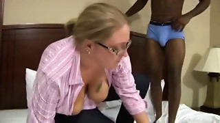 plump wife acquire drilled by Big black cock
