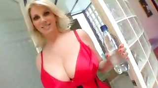 golden-haired mother I'd like to fuck hooker acquires screwed