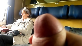 Teach Knob flash to Elder - with Cum