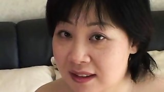 44yr elder Fat Big breasted Japanese Mamma Desires Cum (Uncensored)